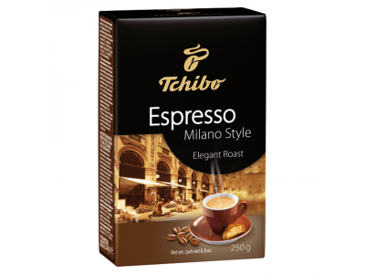 Tchibo espresso őrölt kávé milano style 250g