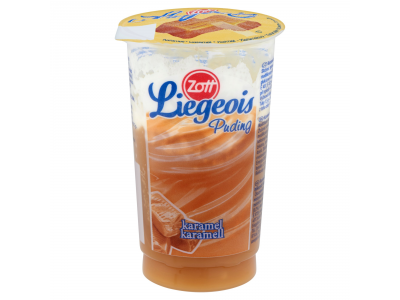Zott Liegeois karamellás tejszínhabos desszert 175g