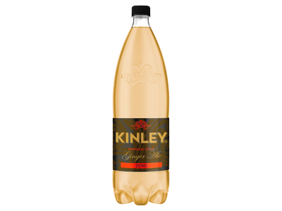 Kinley ginger ale zero gyömbérízű szénsavas üdítőital 1,5l