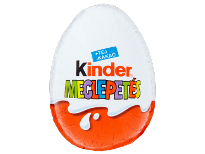 Kinder Meglepetés tejcsok.tojás belsejében meglepetéssel 20g