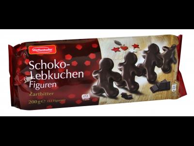 Stieffenhofer mézeskalács figura étcsokoládéba mártott 200g