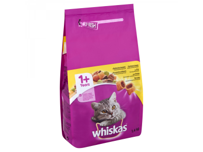 Whiskas állateledel felnőtt macska csirkehússal 1.4kg
