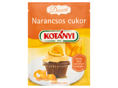 Kotányi Dessert narancsos cukor 50g