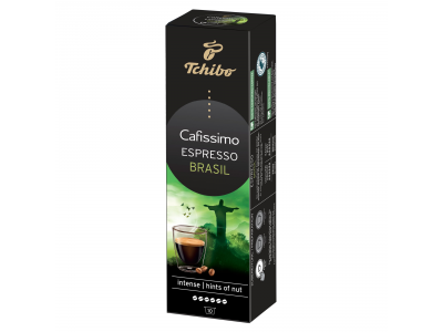 Tchibo Cafissimo espresso brasil kávékapszula 10db 80g