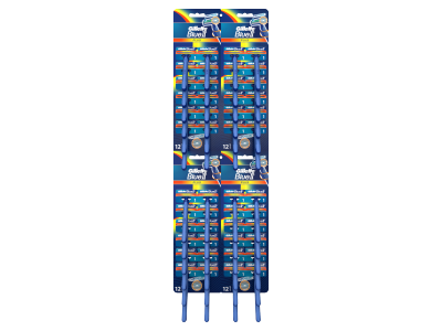 Gillette Blue II plus eldobható borotva 1db