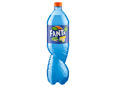 Fanta citrom-bodza ízű szénsavas üdítőital 1l