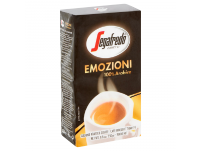 Segafredo emozioni őrölt kávé 250g