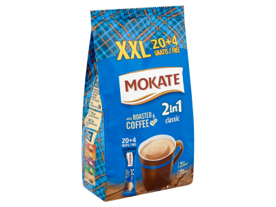 Mokate 2in1 classic azonnal oldódó kávéspecialitás 24x14g