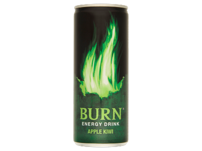 Burn apple kiwi energiaital 250 ml
