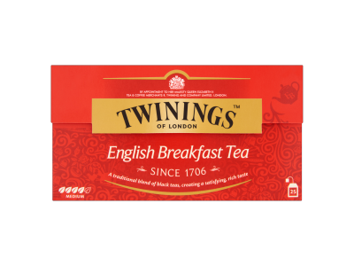 Twinings English breakfast fekete tea 25x2g