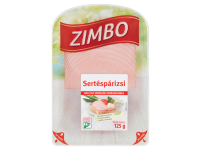 Zimbo sertés párizsi 125g
