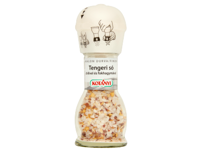 Kotányi tengeri só chilivel és fokhagymával malom 72g