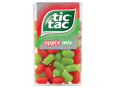 Tic Tac apple mix almaízű cukordrazsé 49g