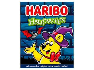 Haribo halloween party box 75g