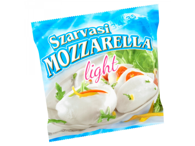 Szarvasi mozzarella sajt lében light 100g
