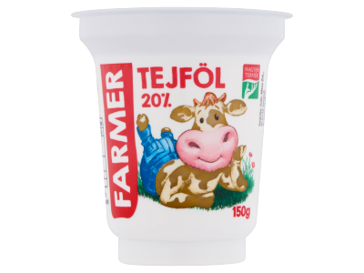 Farmer tejföl 20% 150g