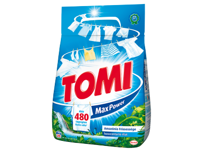 Tomi amazónia frissessége mosópor 20mosás 1,4kg