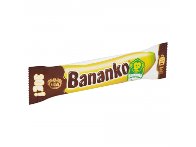 Kraš Bananko original csokoládéval bevont habos termék 30g