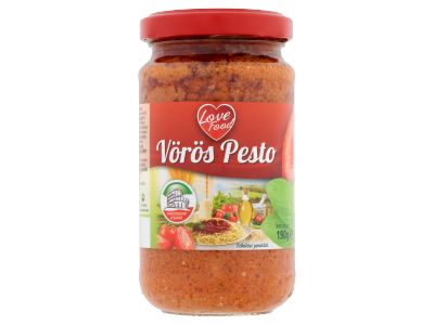 Love Food vörös pesto 190g
