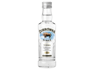 Zubrówka Biala vodka 37,5% 0.2l