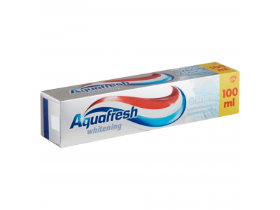 Aquafresh fogkrém white & shine 100ml