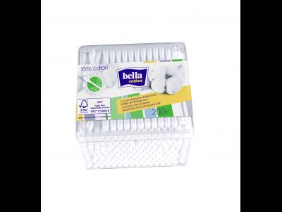 Bella fültisztító pálcika papírszáras, dobozban 200db