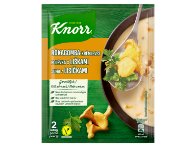 Knorr rókagomba-krémleves 56g