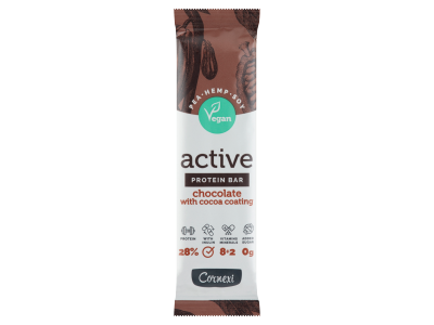 Cornexi A.VEGÁN csokis fehérjeszel.kakaóstalp.vitam.+ásv.45g