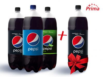 3db Pepsi szénsavas üdítőital 2.25l + 1db Pepsi MAX 2.25l