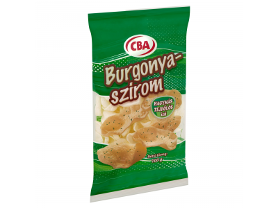 CBA burgonyaszirom hagymás tejfölös izű 100g