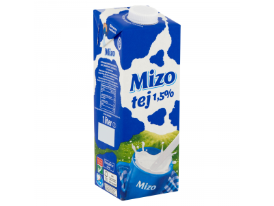 Mizo tartós tej 1,5% uht 1l