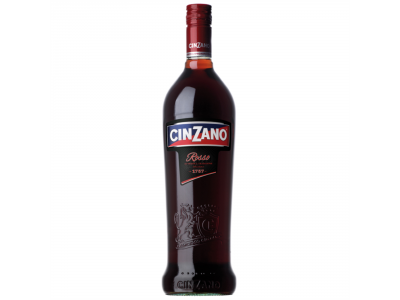 Cinzano Rosso édes vörös ízesített boralapú ital 14,4% 0,75l