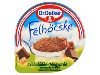 Dr. Oetker Felhőcske csokoládés-mogyorós puding 125g