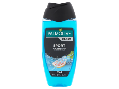 Palmolive for men extrawave 2in1 tusfürdő&sampon 250ml