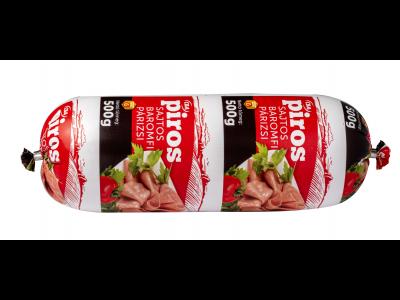 CBA PIROS sajtos baromfi párizsi 500g