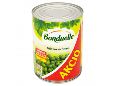 Bonduelle finom zöldborsó 545g