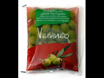 Veraneo olívabogyó paprikával töltött 180g/100g
