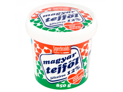 Magyar tejföl vödrös 12% 850g