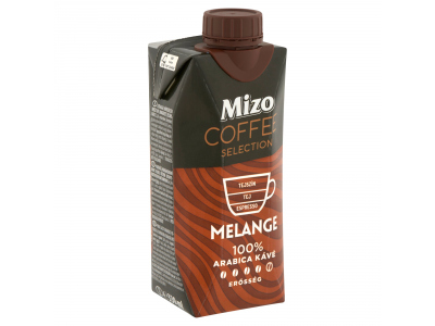 Mizo Coffee Selection Melange UHT félzsíros kávés tej 330ml