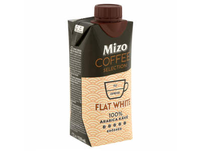 Mizo Coffee Selection Flat White UHT félzs. kávés tej 330ml