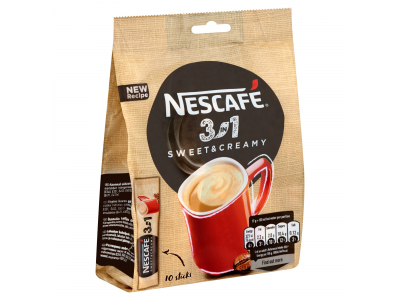 Nescafé 3in1 sweet&creamy 10x17g