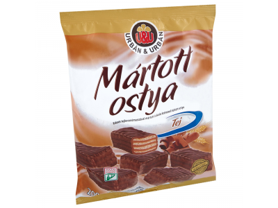 Urbán&Urbán mártott ostya tej 200g