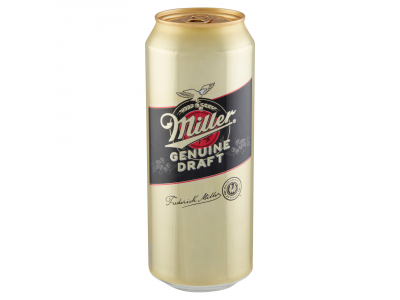 Miller Genuine draft világos sör 4,7% 500ml