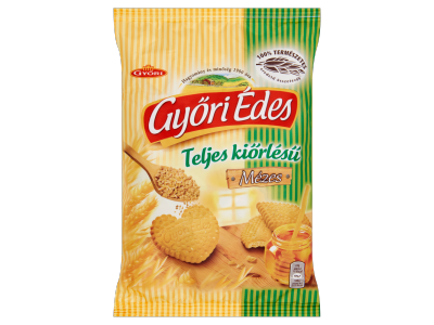 Győri Édes keksz mézes teljes kiörlésű 180g