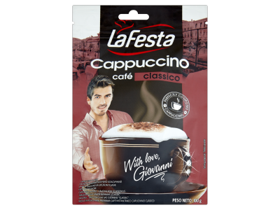 La festa cappuccino classico utántöltő 100g