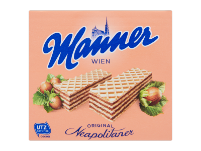 Manner ostya mogyorós 75g