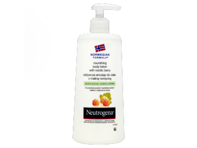 Neutrogena nordic berry body lotion 250ml