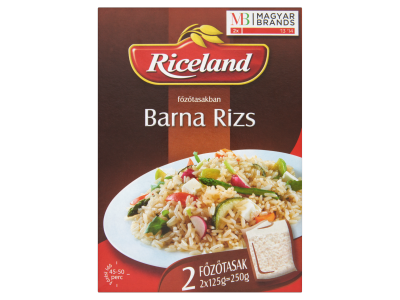 Riceland rizs barna 2x125g
