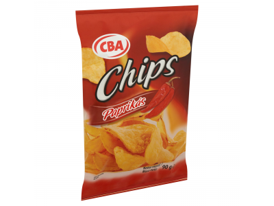 CBA chips paprikás 90g