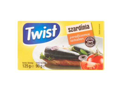 Twist szardínia paradicsomos szószban 125g/90g
